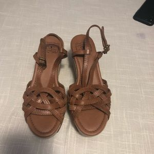 Lucky Brand Brand New Wedge Sandals